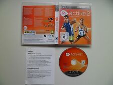PS3 EA Sports Active 2 (Sony PlayStation 3, 2010) European Version NO UK MANUAL