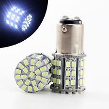 BAY15D 1157 Car Tail Stop Brake Light Super Bright 64 SMD LED Bulb 12V White KY