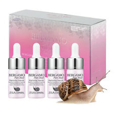 [BERGAMO] Pure Snail Brightening Ampoule Set 13ml x 4ea / Moisture & Anti-Aging