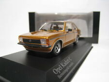 OPEL KADETT C COUPE 1978 1/43 MINICHAMPS (GOLD)