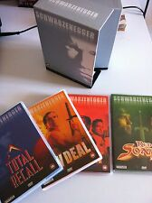 Arnold Schwarzenegger DVD Box Set  4 DVD -SPECIAL EDITION ENGLISH ESPAÑOL