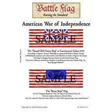 Battle Flag - The Grand Old Union Flag The Betsy Ross (American War of Independe