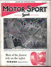 Motor Sport 04/1949 Claude Hill Aston Martin Designer, 1947 VW, Betty Haig +