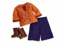 JULIE AMERICAN GIRL DOLL Retired CASUAL DOG WALKING OUTFIT GAUCHOS BOOTS NRFB