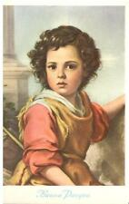 Cartolina Buona Pasqua Opera Madonna di Fatima  (R141)