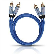 OEHLBACH 2700 BEAT! Stereo NF Kabel 0,5m 2x Cinch auf 2x Cinch analog Audio