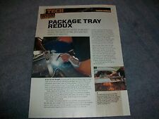 1955 Chevy 2-Door Hardtop Package Tray Filler Panel Replacement How to Article