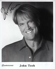 JOHN TESH - Signed 10x8 Photograph - ENTERTAINMENT TONIGHT (US)