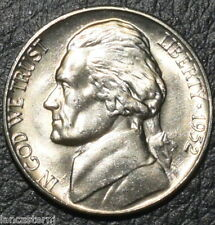 1952-D BU 5C Jefferson Nickel