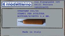 CORTE DI CAVANNO UTESTAM01/006 Bottone rivetto 0,6 mm.
