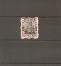 TIMBRE ALLEMAGNE DEUTSCHE KOLONIE GERMAN LEVANT N°34 OBLITERE USED