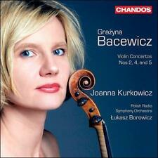 Grazyna Bacewicz: Violin Concertos Nos 2, 4 & 6 (CD, Jun-2011, Chandos)