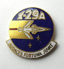 GRUMMAN X-29-A AVIATION USAF NASA AIRCRAFT LAPEL PIN BADGE 1 INCH