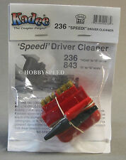 KA-DEE SPEEDI DRIVER CLEANER HO/HOn3 O scale engines cleans gauge KDE KADEE 236