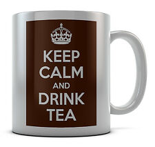 Keep Calm And Drink Tea Mug Cup Gift Idea Present Coffee Tea