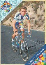 RINALDO NOCENTINI cyclisme ciclismo cp signée MAPEI 99