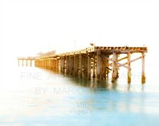 """Golden Pier"" 16x20 Fine Art Photography on Metallic Paper"