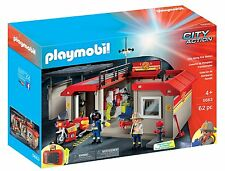 PLAYMOBIL Take Along Fire Station Playset