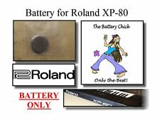 Battery for Roland XP-80 Workstation - Internal Memory Replacement Battery