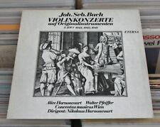 Bach - LP (VG+) Violinkonzerte, Alice Harnoncourt/Walter Pfeiffer Violine/ETERNA