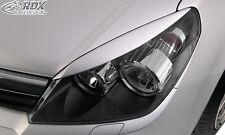 RDX Scheinwerferblenden Opel Astra H incl. GTC Böser Blick ABS Blenden Spoiler