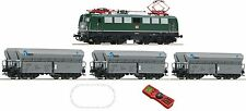 Roco HO Digital Starter Set with Electric Locomotive BR 140 DB-AG