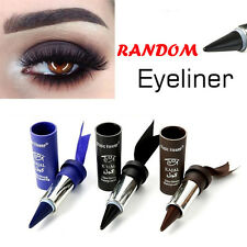 Random Color  Bold Thick Waterproof Eyeliner Gel Eyes Liner Pencil Makeup