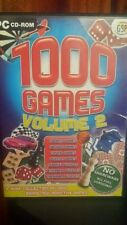 1000 Games Volume 2 PC GAME