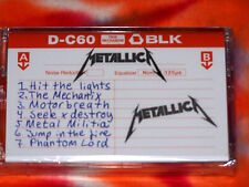 METALLICA No Life Til Leather RECORD STORE DAY 2015 Demo Tape BRAND NEW