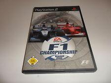 PlayStation 2  PS 2  F1 Championship Season 2000
