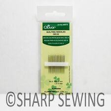 QUILTING NEEDLES NO.9  0.56 X 27.3MM 15 EACH #468/09 BY CLOVER