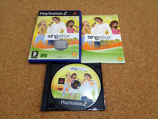 singstar pop  ** Playstation 2 PS2 ** pal version