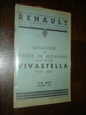 CATALOGUE PIECES DE RECHANGE - Renault Vivastella Type ACR - 1935 - b