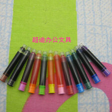 Fountain Pen ink 5PCS 5ml 2.7 mm interface Mixed color Ink Refill Cartridg kdt06