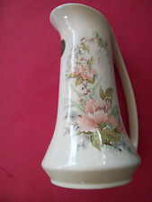MELBA STAFFORDSHIRE  ENGLAND   FLORAL    PITCHER