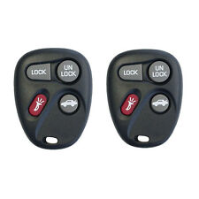 A Pair New 4B Remote Key Shell Fob Case fit for GM Chevrolet Buick Cadillac