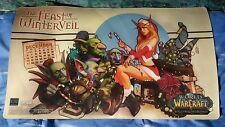 tappetini playmat wow tcg the feast of winterveil