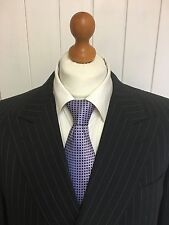 "Mens LUXURY CANALI ""ITALIAN"" WOOL SUIT In CHARCOAL PINSTRIPE 44R *EX-CON*"