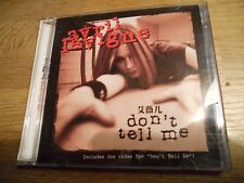 AVRIL LAVIGNE DON´T TELL ME 2 CD SET 41 TRACK 2004 SONY MUSIC ASIA LIMITED EDITI