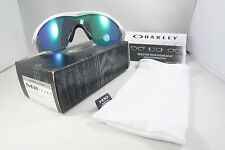 Oakley OO9212-19 M2 Polished White Jade Iridium Polarized New Sunglasses