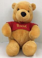 Disney Winnie the Pooh Stuffed Animated Plush Bear Shakes Talks Giggles 12 Inch