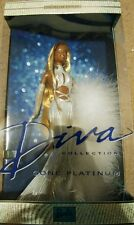 BARBIE DIVA GONE PLATINUM 2001 COLLECTOR EDITION AFRICAN AA DOLL FREE SHIPPING