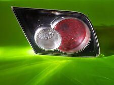 2006-2007 MAZDA SPEED 6 TAIL LIGHT DRIVER LEFT INNER MAZDASPEED6 MS6 OEM