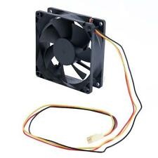 80mm x 25mm Brushless Cooling Fan DC 12V for Computer Case CPU Cooler     U23