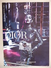 Rihanna for Dior PRINT AD - 2015 ~~ Secret Gardens IV