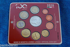 ALFA ROMEO CENTENARY 1910 2010 OFFICIAL COIN SET EURO
