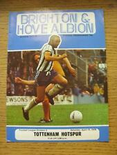 15/04/1978 Brighton and Hove Albion v Tottenham Hotspur [2nd Division Season Tot