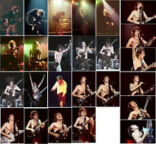 25 Angus Young AC-DC concert photos Coventry 78, Wembley 79/82