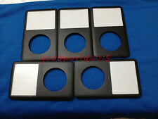 5pcs Black Front Cover housing faceplate  for iPod Classic 80GB 120GB 160GB