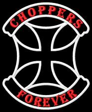 Choppers Forever Parche bordado iron-on patch